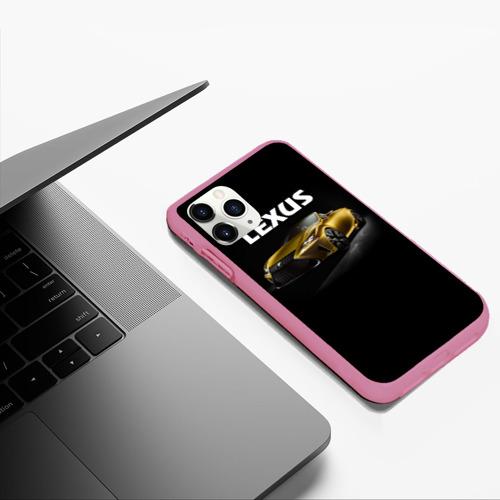 Чехол для iPhone 11 Pro Max матовый Lexus Фото 01