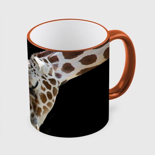 Кружка с полной запечаткой Жирафы
