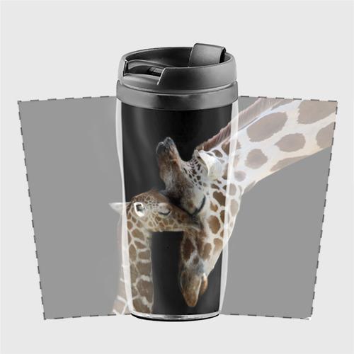 Термокружка-непроливайка  Фото 02, Жирафы