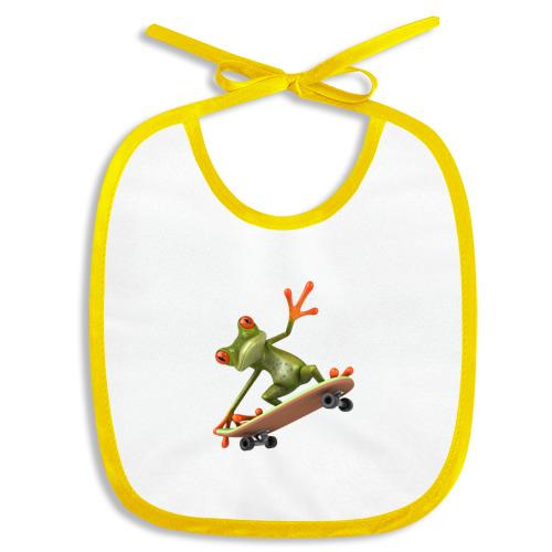 Лягушка на скейтборде