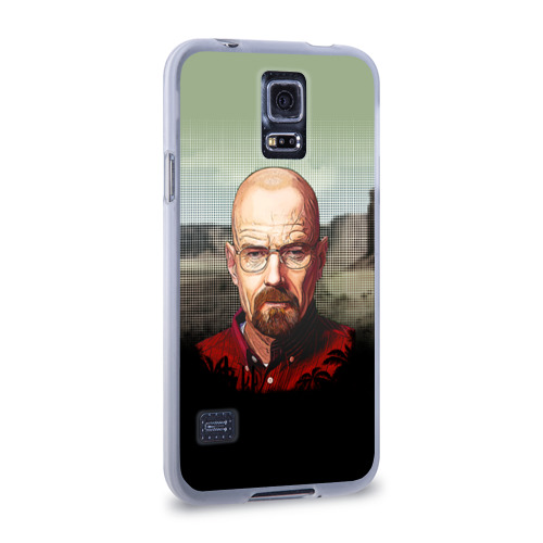 Чехол для Samsung Galaxy S5 силиконовый  Фото 02, Breaking bad (Heisenberg)