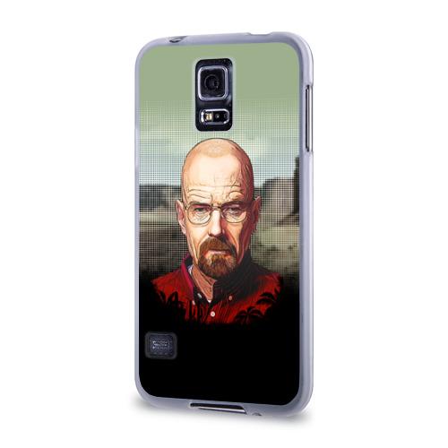 Чехол для Samsung Galaxy S5 силиконовый  Фото 03, Breaking bad (Heisenberg)