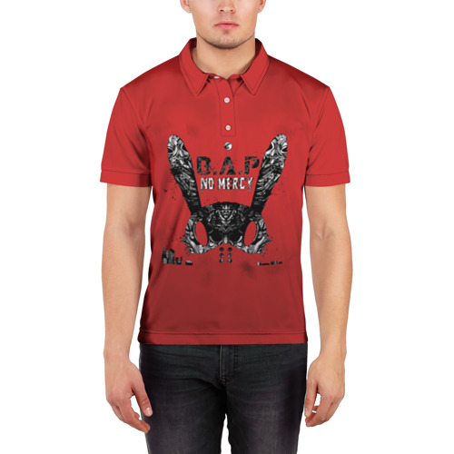 Мужская рубашка поло 3D  Фото 03, B.A.P. (No Mersy)