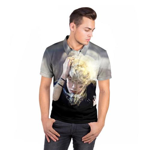 Мужская рубашка поло 3D  Фото 05, B.A.P.