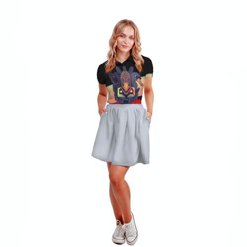 Женская рубашка поло 3D Hotline Miami 2 Фото 01