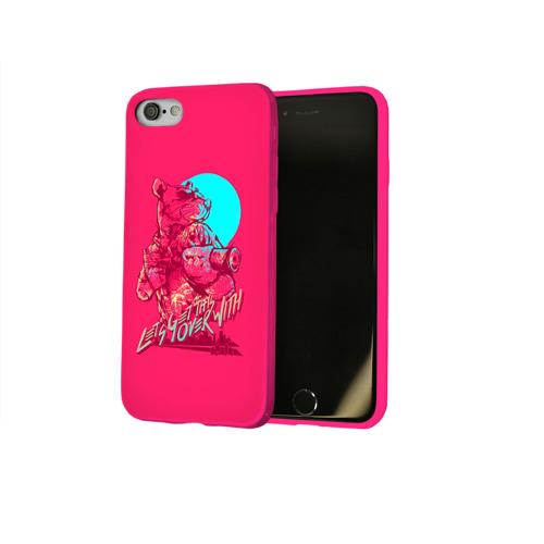 Чехол для Apple iPhone 8 силиконовый глянцевый Hotline Miami 3 Фото 01