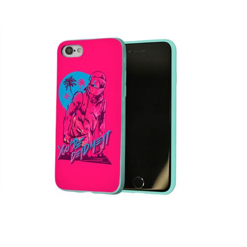 Чехол для Apple iPhone 8 силиконовый глянцевый Hotline Miami 6 Фото 01
