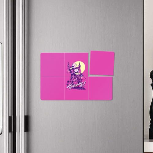 Магнитный плакат 3Х2 Hotline Miami 8 Фото 01