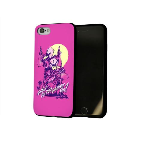 Чехол для Apple iPhone 8 силиконовый глянцевый Hotline Miami 8 Фото 01