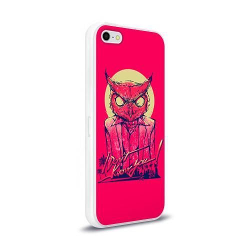 Чехол для Apple iPhone 5/5S силиконовый глянцевый  Фото 02, Hotline Miami 11