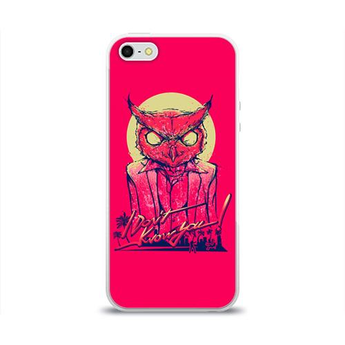 Чехол для Apple iPhone 5/5S силиконовый глянцевый  Фото 01, Hotline Miami 11