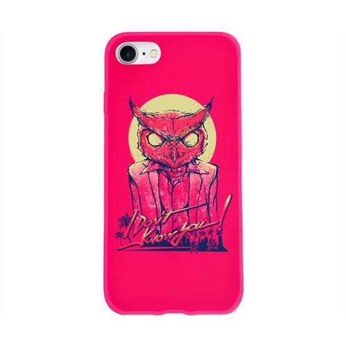 Чехол для Apple iPhone 8 силиконовый глянцевый Hotline Miami 11 Фото 01