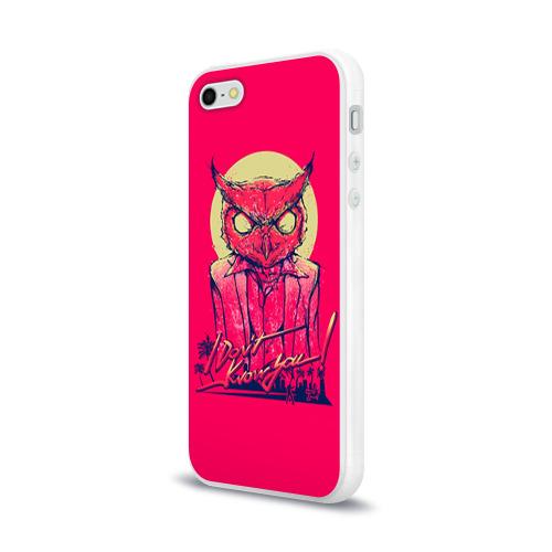 Чехол для Apple iPhone 5/5S силиконовый глянцевый  Фото 03, Hotline Miami 11