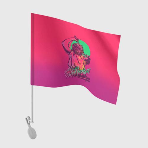 Флаг для автомобиля Hotline Miami 13 Фото 01