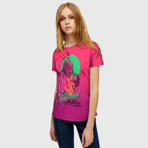 Женская футболка 3D Hotline Miami 13 Фото 01