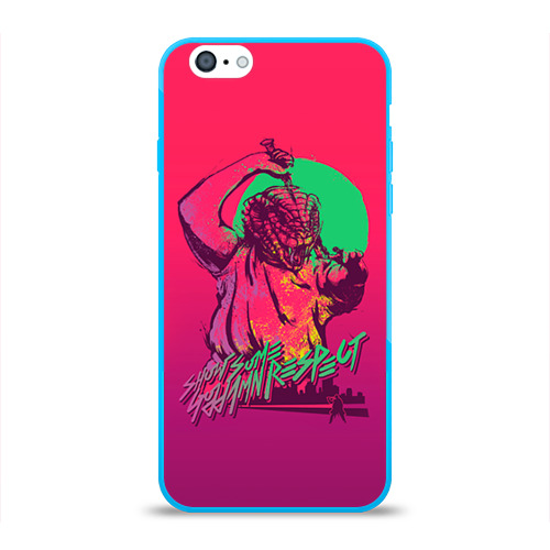 Чехол для Apple iPhone 6 силиконовый глянцевый Hotline Miami 13 Фото 01