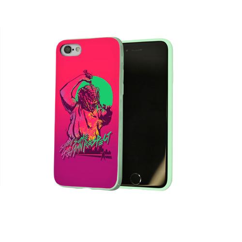 Чехол для Apple iPhone 8 силиконовый глянцевый Hotline Miami 13 Фото 01