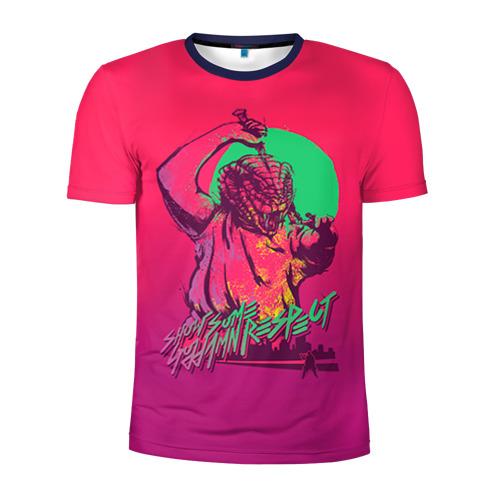 Мужская футболка 3D спортивная Hotline Miami 13 Фото 01