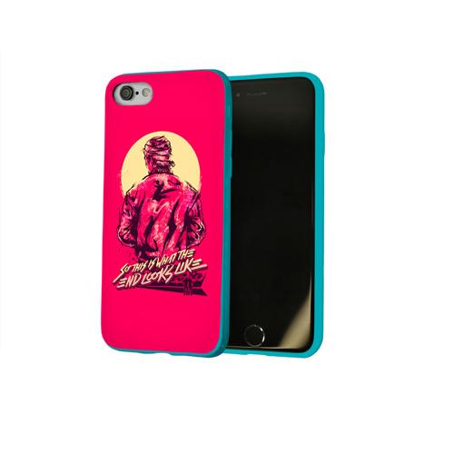 Чехол для Apple iPhone 8 силиконовый глянцевый Hotline Miami 15 Фото 01
