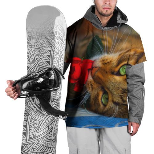 Накидка на куртку 3D  Фото 01, Кошечка
