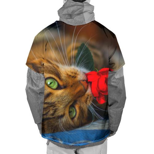Накидка на куртку 3D  Фото 02, Кошечка