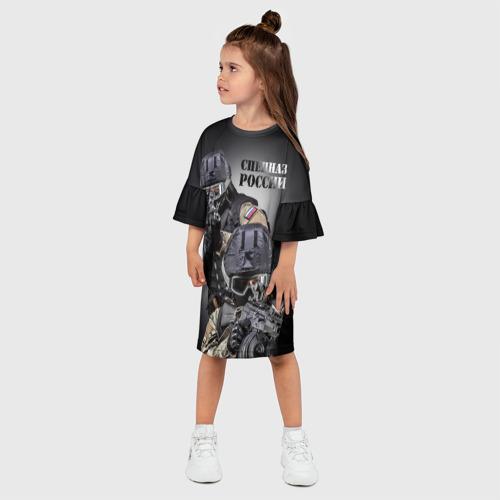 Детское платье 3D  Фото 03, Спецназ России