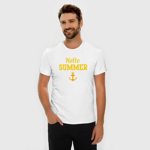 Мужская футболка премиум  Фото 03, summer