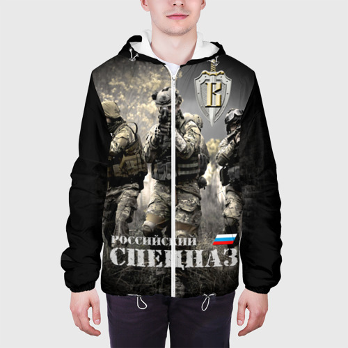 Мужская куртка 3D Спецназ России