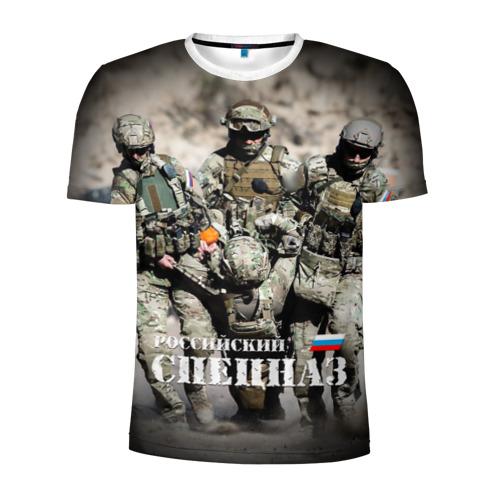 Мужская футболка 3D спортивная  Фото 01, Спецназ России
