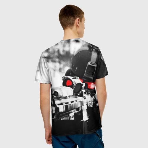 Мужская футболка 3D  Фото 02, Спецназ России