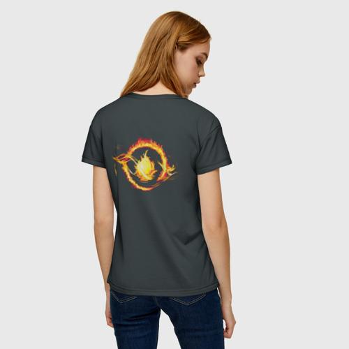 Женская футболка 3D Дивергент. Трис и Тобиас Фото 01