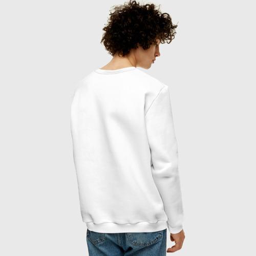 Мужской свитшот хлопок с чёрным лого Forch - №2 Фото 01