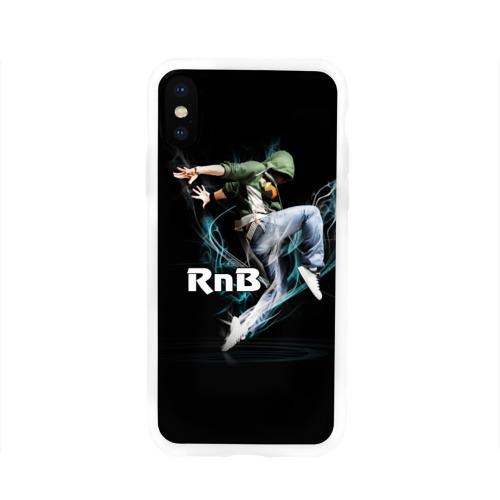 Чехол для Apple iPhone X силиконовый глянцевый  Фото 01, RnB