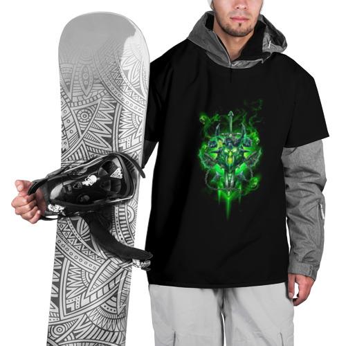 Накидка на куртку 3D  Фото 01, Рыцарь смерти нечестивость