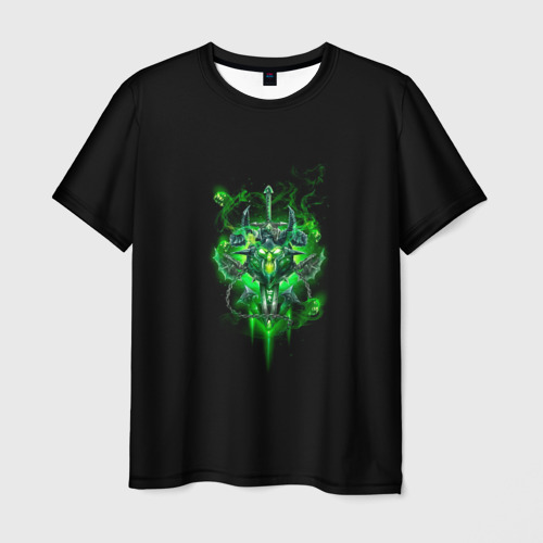 Мужская футболка 3D  Фото 03, Рыцарь смерти нечестивость