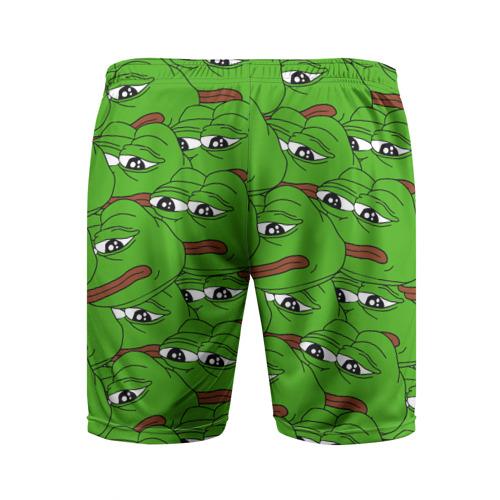 Мужские шорты 3D спортивные  Фото 02, Sad frogs