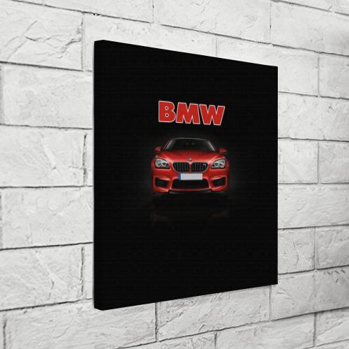 Холст квадратный  Фото 03, Авто BMW