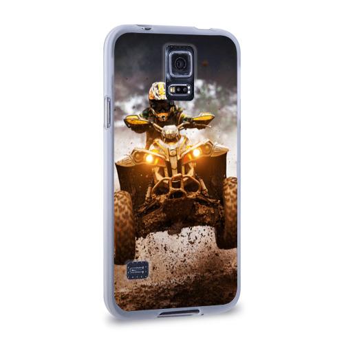 Чехол для Samsung Galaxy S5 силиконовый  Фото 02, Квадроцикл