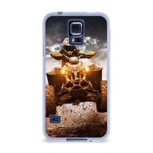 Чехол для Samsung Galaxy S5 силиконовый  Фото 01, Квадроцикл