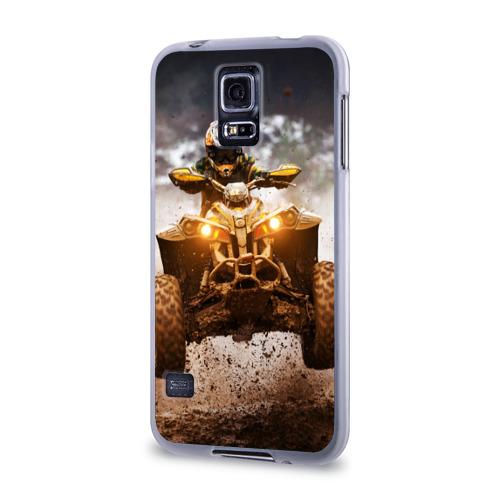 Чехол для Samsung Galaxy S5 силиконовый  Фото 03, Квадроцикл