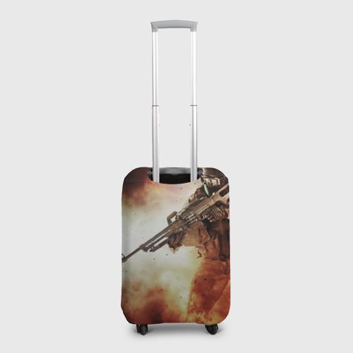 Чехол для чемодана 3D Отряд Альфа Фото 01