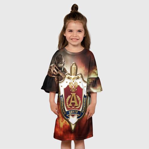 Детское платье 3D  Фото 01, Отряд Альфа