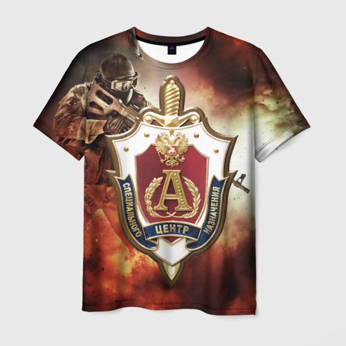 Мужская футболка 3D  Фото 03, Отряд Альфа