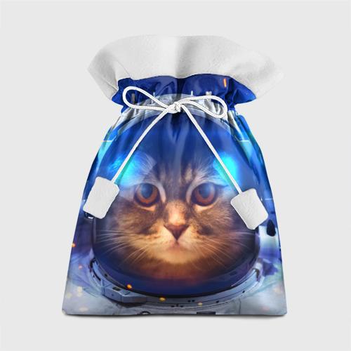 Подарочный 3D мешок Кот космонавт