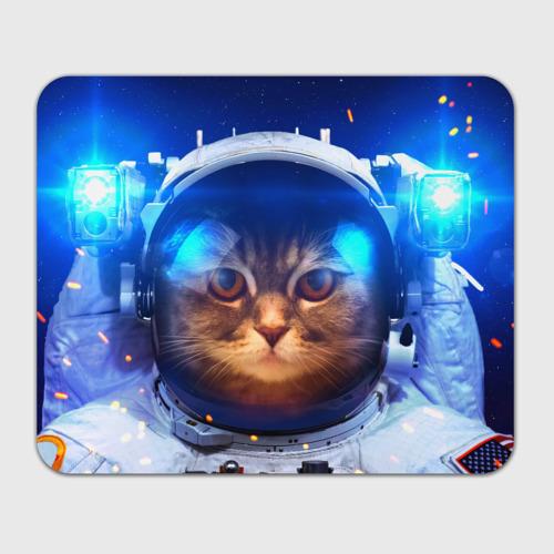 """Коврик для мыши """"Кот космонавт"""" (прямоугольный) фото 0"""
