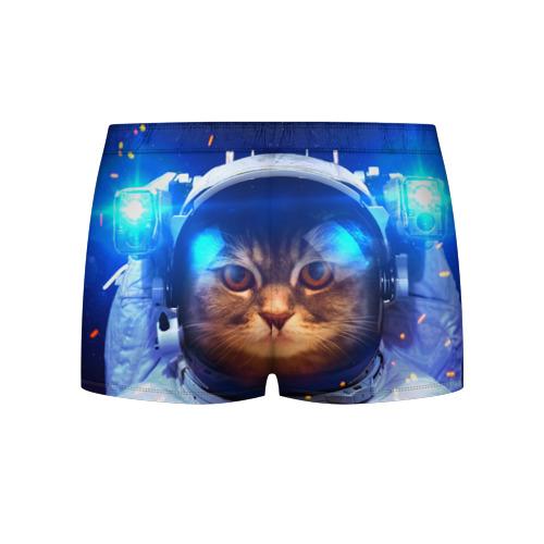 Мужские трусы 3D  Фото 02, Кот космонавт
