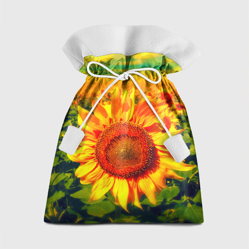 Подарочный 3D мешок Подсолнухи Фото 01