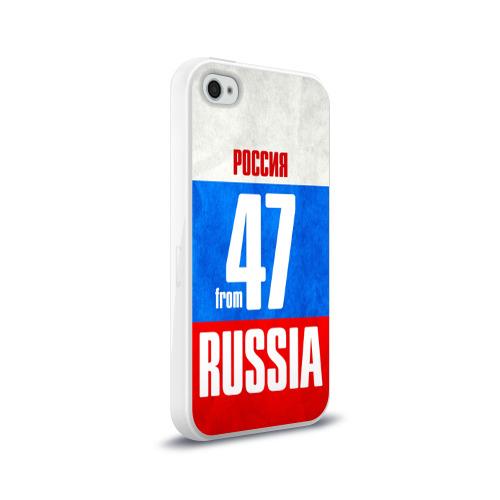 Чехол для Apple iPhone 4/4S силиконовый глянцевый  Фото 02, Russia (from 47)