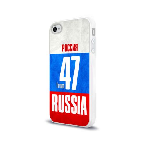 Чехол для Apple iPhone 4/4S силиконовый глянцевый  Фото 03, Russia (from 47)