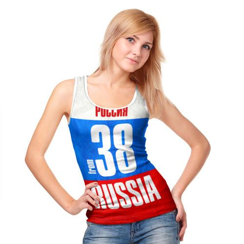 Женская майка 3D  Фото 05, Russia (from 38)